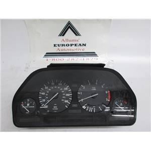 BMW E34 E32 speedometer instrument cluster 62111388085 #12