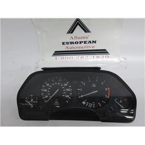 BMW E34 E32 speedometer instrument cluster 62118350542 #7