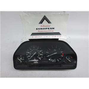 BMW E34 E32 speedometer instrument cluster 62118361730 #8