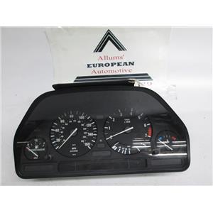BMW E34 E32 speedometer instrument cluster 62118351832 #7