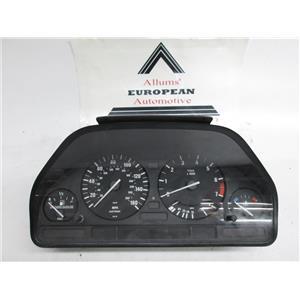 BMW E34 E32 speedometer instrument cluster 62118356034 #16