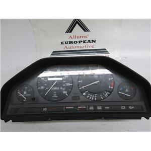 BMW E30 318 speedometer instrument cluster #4