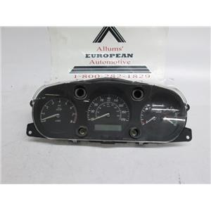 Jaguar X-Type speedometer instrument cluster 2W9110849AK