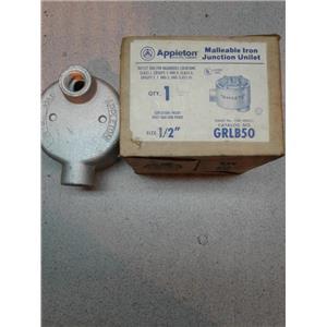 Appleton GRLB50 Malleable Iron Junction Unilet
