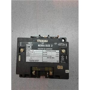 Square D 8502SCO1V02S Magnetic Contractor