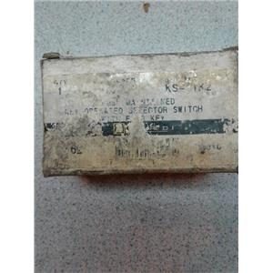 Square D 9001 KS TK2 Key Operated Selector Switch
