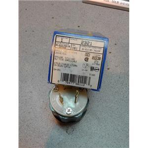 N/A 2321 2P 3W Grounding Locking Plug