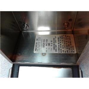 Mckinnstry SS52h-664 Mounted Panel Box, Salfety Latches