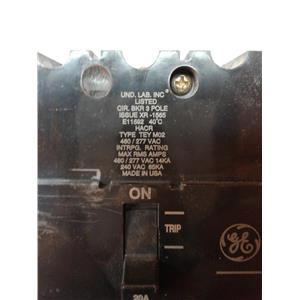 General Electric E11592 3-Pole, E11592, Tey, 480/277Vac, 14Ka, 240 Vac, 20Amp