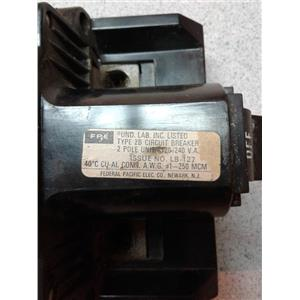 Federal Pacific TYPE 2B Type 2B 150A Main Breaker