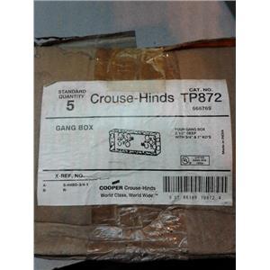 """Crouse Hinds TP872 2 1/2"""" Deep Gang Box"""