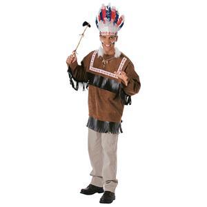 Cherokee Warrior Adult Indian Chief Costume Standard
