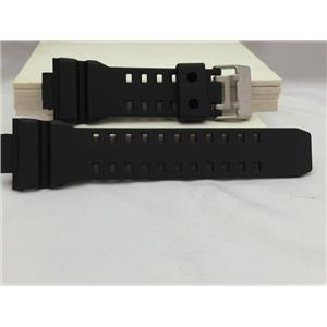 Casio Watch Band GD-350 Black Resin Strap for G-shock Vibrator Watch.