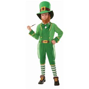 Little Irish Leprechaun St. Patricks Day Child Costume Medium