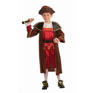 Christopher Columbus Child Costume Size Large 12-14