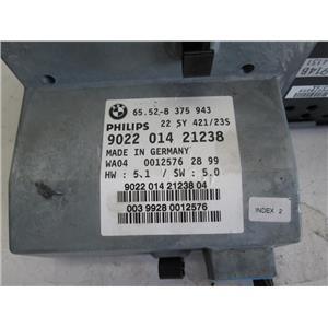 BMW E38 E39 740iL 750iL radio navigation unit 65528375943