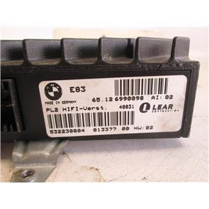 BMW E83 X3 radio amplifier 65126990098