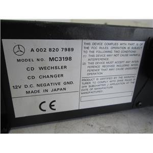 Mercedes W220 W210 W203 R129 6 Disc CD changer 0028207989