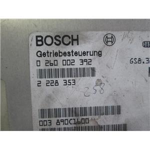 BMW M3 TCM trasmission control module 0260002392
