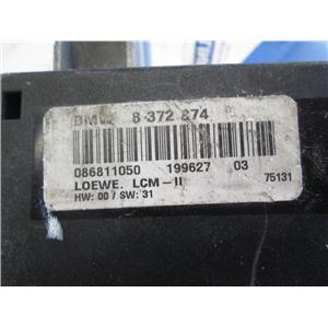BMW E38 E39 LCM lighting control module 8372874