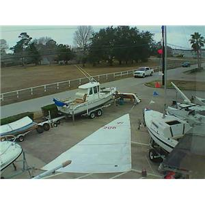 Quantum Dacron Mainsail w 31-5 Luff from Boaters' Resale Shop of TX 1712 0275.91