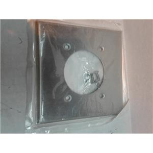 Leviton 83026 2-Gang Flush Mount 2.15-Inch Diameter, Aluminum
