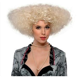 Let's Dance Big Curly Blonde Victorian Wig