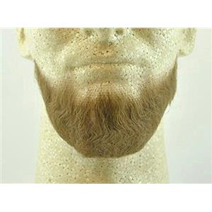 Lt Brown Human Hair Goatee Chin Beard Costume Beard 2023
