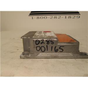 Mercedes SRS air bag control module 0285001165