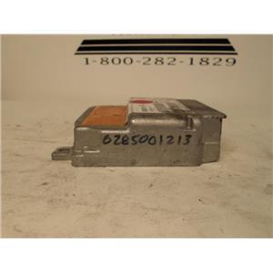 Mercedes SRS air bag control module 0285001213