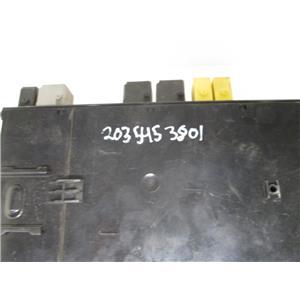 Mercedes rear SAM signal aquistion control module 2035453801