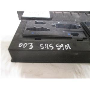 Mercedes SAM signal aquistion control module fuse box 0035455901