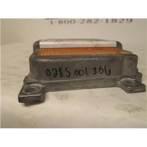 Audi SRS air bag control module 0285001306 8D0959655M