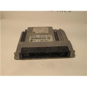 BMW DME ECU engine control module 7540510 0261209010