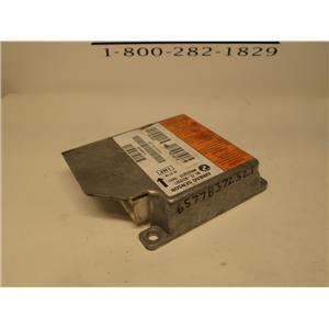 BMW SRS airbag control module 65778372521