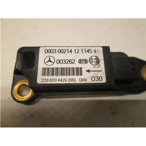 Mercedes crash impact sensor 2208204426