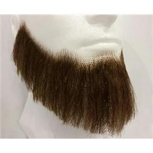 Medium Brown Human Hair Full Character Professional Costume Beard 2024