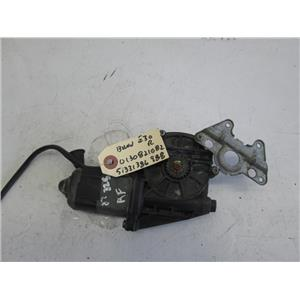 BMW E30 sedan right window motor 0130821082 51331386988