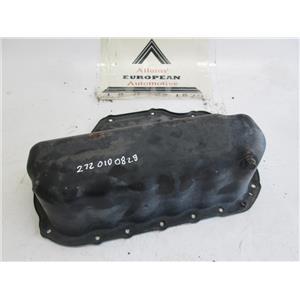Mercedes lower oil pan 2720100828