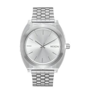 Nixon Women's Time Teller Acetate 40mm A327-2631-00 Clear/Silver