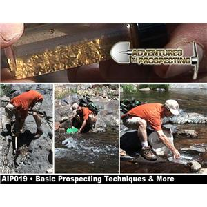 BASIC GOLD PROSPECTING TECHNIQUES & MORE DVD- Mining GREAT INFO - Chris Ralph