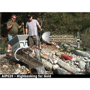 HIGHBANKING FOR GOLD With PAT KEENE & CHRIS RALPH Prospecting & Mining DVD