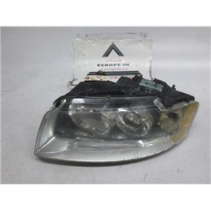 Audi A4 left side headlight 8E0941029F 02-05 missing tabs