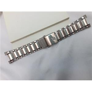Casio Watch Band EFR-522 Bracelet for Edifice Watch.Stainless Steel Silver Color