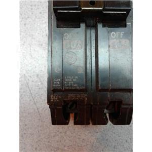 Ge E11592 2 Pole Unit Rt-690 Type Thql 40 Amp Breaker