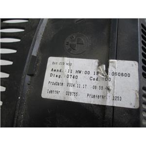 BMW E60 530i 545i 525i dashboard info screen 65826952327