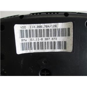 BMW E39 740iL instrument cluster 62118387073