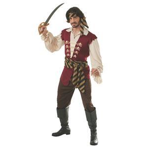Pirate Raider Adult Deck Hand Costume