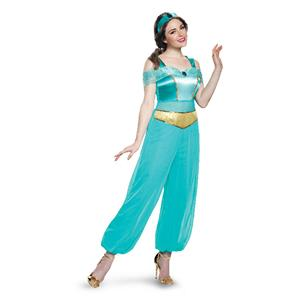 Disney Princess Women's Jasmine Deluxe Adult Costume Small 4-6