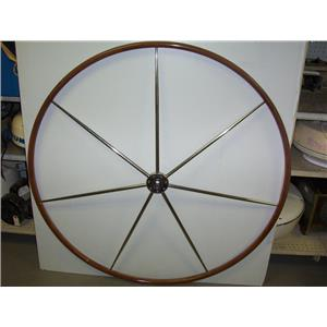 "Boaters Resale Shop of TX 1803 2147.01 EDSON 48"" STEERING WHEEL 1"" TAPERED HUB"